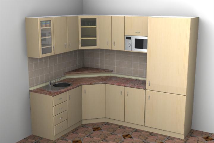 Kitchen 3d Model Stl 1