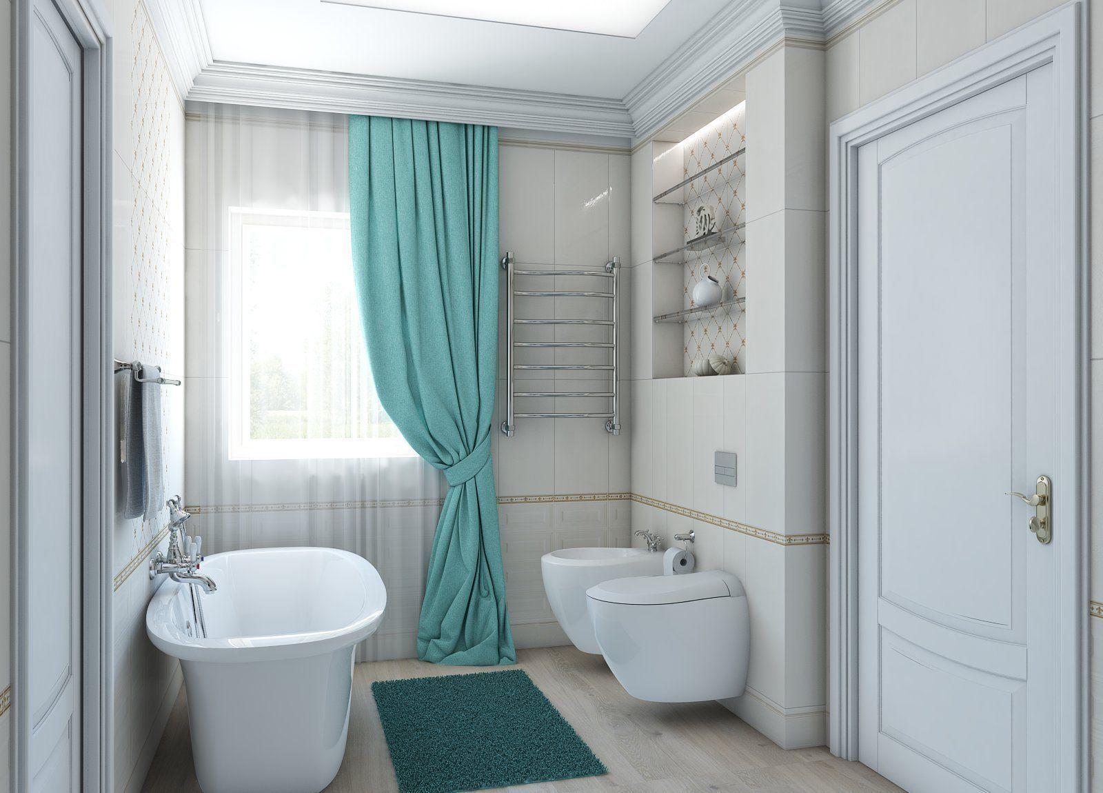 3D model Soft classic style Bathroom | CGTrader on Bathroom Model  id=17706