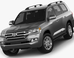 Toyota Land Cruiser 2016 3D