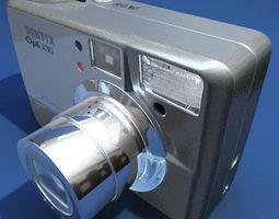 Pentax Optio 430 3D Model