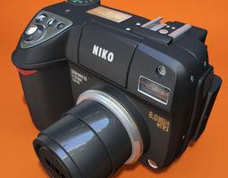 Nikon Coolpix 8400 3D Model