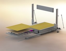 3m-cnc-hotwire-cutter 3D model