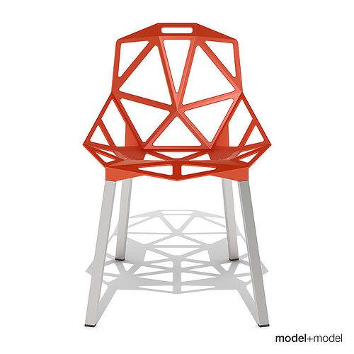 Magis Chair One 3D Model MAX OBJ 3DS FBX DXF MAT