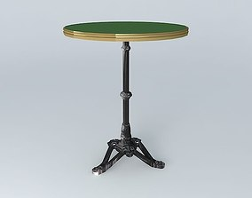 3D model green BISTRO TABLE RONDE ARDAMEZ Company