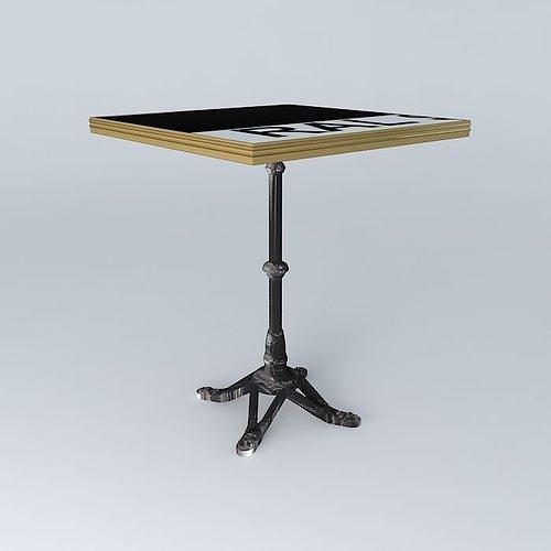 3d bistro table square ardamez company designs cgtrader bistro table square ardamez company 3d model max obj 3ds fbx stl dae 1 watchthetrailerfo