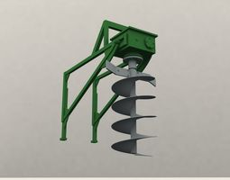 ground drill 3d