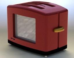 giant toaster 3d model