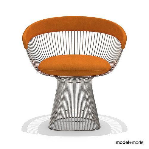 Platner Chair 3d model knoll platner armchair | cgtrader