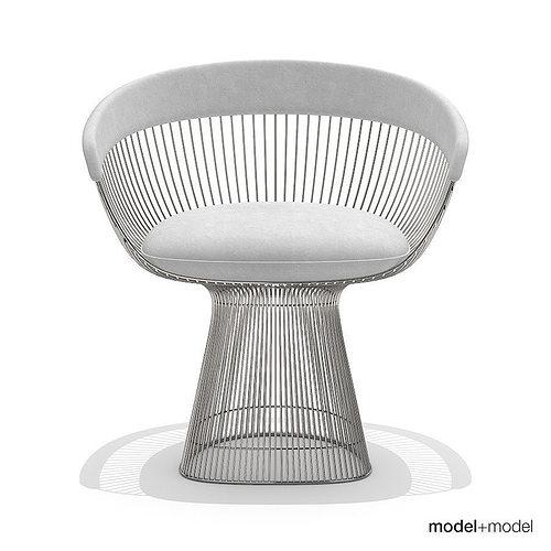 ... knoll platner armchair 3d model max obj 3ds fbx dxf mat 5 ...