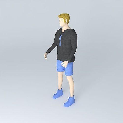 German boy scout wearing a Juja