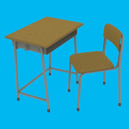 desks open virco text htm desk school front double
