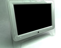 First Apple Cinema Display Display 3D model