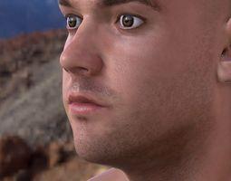 3d model human head max 3D Model