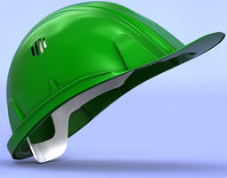 Construction Helmet 3D model