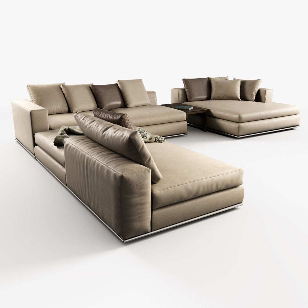 Modular Furniture Sofa: Hamilton Modular Sofas 3D Model MAX OBJ
