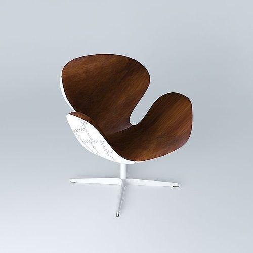 Harrison Chair Maisons Du Monde 3D Model