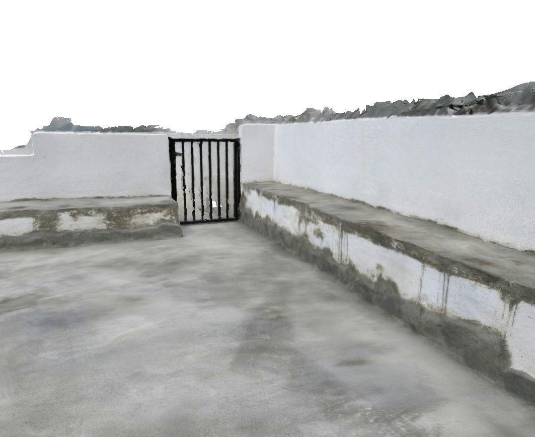 Awesome ... Concrete Terrace 3d Model Low Poly Obj Dxf Mtl ...