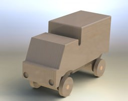 3D model Truck asm