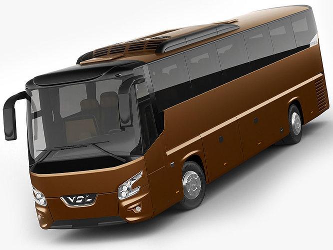vdl bova futura coach 3d model max obj mtl 3ds fbx c4d lwo lw lws 1