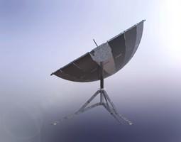3d model solar cooker