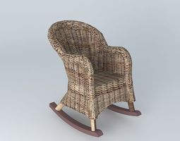 rocking chair 3d models download 3d rocking chair files. Black Bedroom Furniture Sets. Home Design Ideas