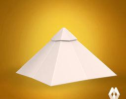 3d printable model pyramid of keops
