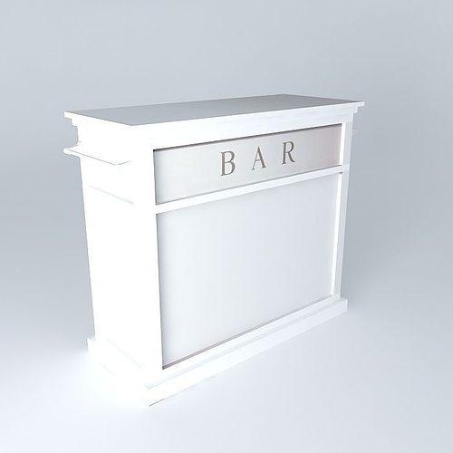 3d bar newport maisons du monde cgtrader