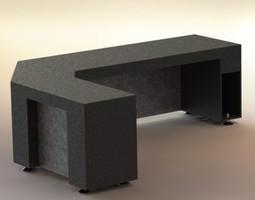 Master desk 3D model