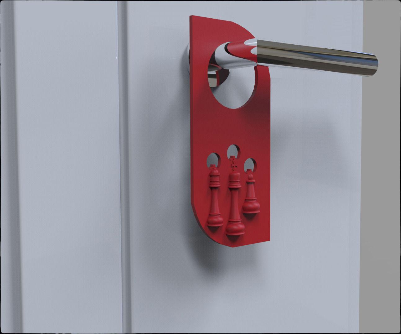Door hanger printing animals door hangers door hanger for Door hanger design ideas