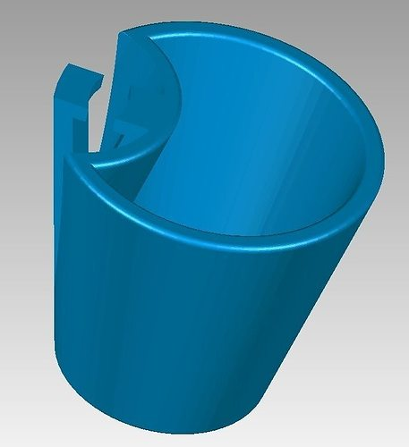 ergonomic coffee cup 3d model stl 1