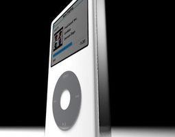 3d apple ipod