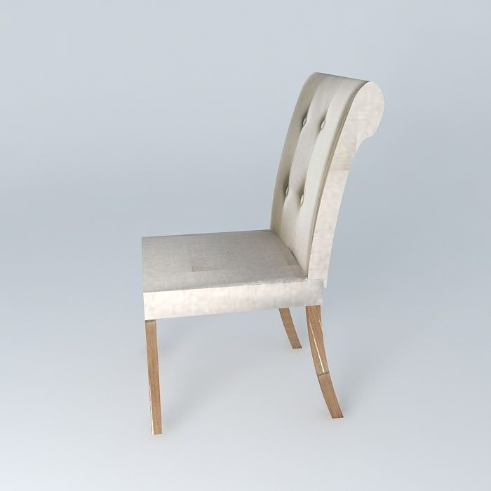 ... Lin Boudoir Chair Houses The World 3d Model Max Obj 3ds Fbx Stl Dae 3  ...