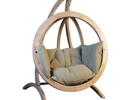 3D Hanging rocking chair