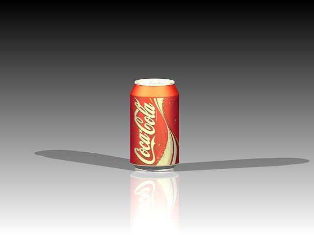 soft drink can 3d model stl rfa rvt 1