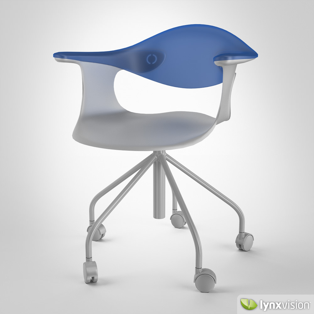 Spin Chair 3d Model Max Obj Fbx Mtl 1 ...
