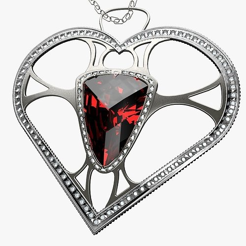 heart artist breast unknown jewel by artworks pendant with gold georgian antique filigree en locket