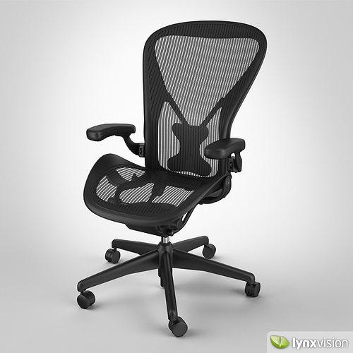 aeron chair by herman miller 3d model - Herman Miller Aeron Chair