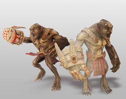 3D asset Earthborn - Troll