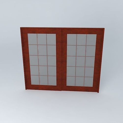 andersen patio door free 3d model
