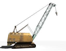 3D asset Crawler Crane
