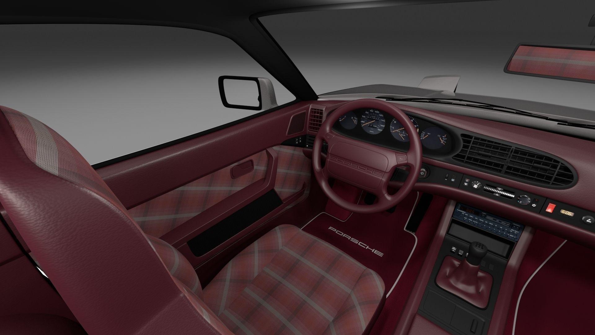 Porsche 944 turbo s with interior 3d model obj fbx stl blend dae mtl porsche 944 turbo s with interior 3d model obj fbx stl blend dae mtl 4 vanachro Gallery