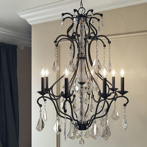 3d pottery barn ruby crystal chandelier cgtrader pottery barn ruby crystal chandelier 3d model aloadofball Images