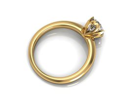 Creative Diamond Ring  3D Model