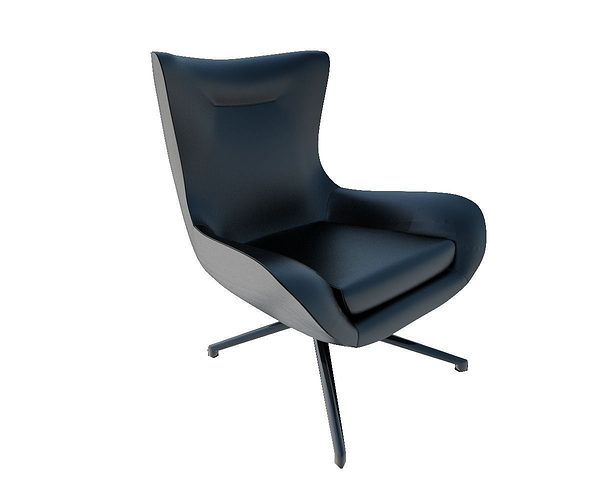 Minotti Lounge Chairs Jensen 3D Model
