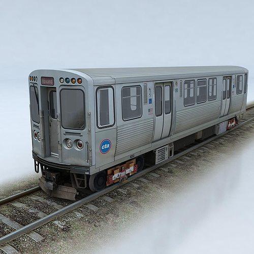 cta 5000 train 3d model low-poly max obj fbx mtl 1