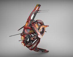 drone v1 - redmanga game-ready 3d asset