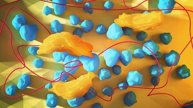 bacteria 3d model blend 1
