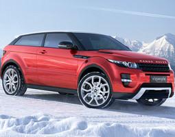 range rover evoque 3d