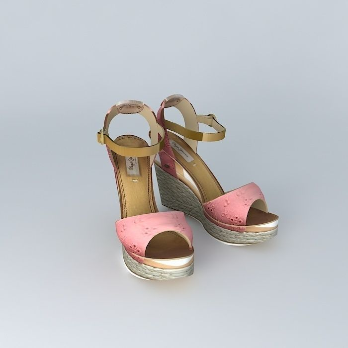 3D PE'P'E JECMA Ladies Sandals | CGTrader