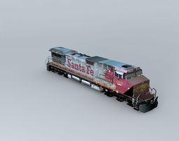 3D Eco Rail Dash 9 Dummy! Sidings Junk